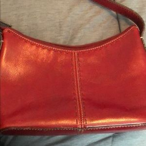 Fossil purse Red